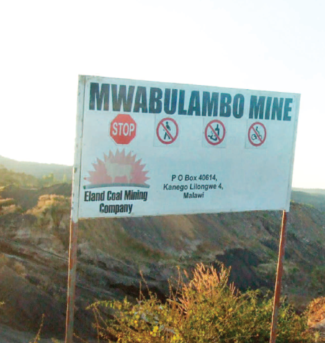 2016-10-malawi-mining-trade-review-eland-coal-mining-mwabulambo-mine