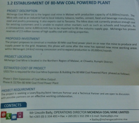 malawi-investment-projects-2016-mchenga-coal-power-station