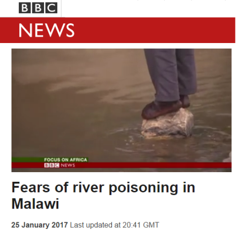 2017-01-25-bbc-video-fears-of-river-poisoning-in-malawi