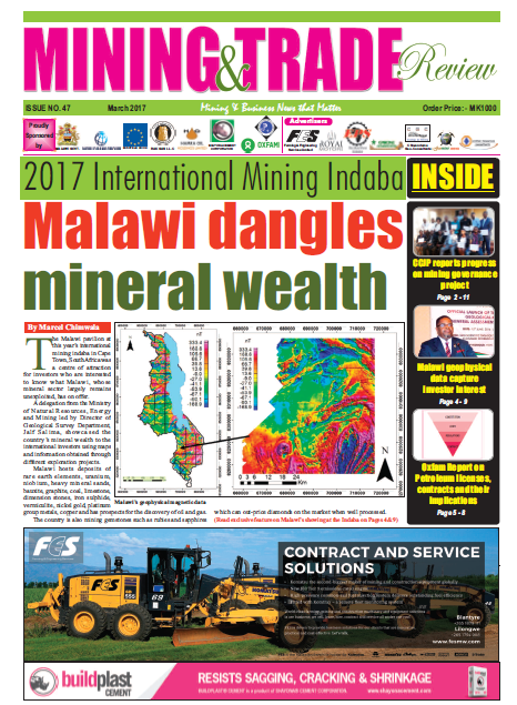 2017-03 Malawi Mining & Trade Review Cover#