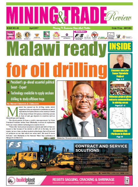 2017-04 Malawi Mining & Trade Review Cover