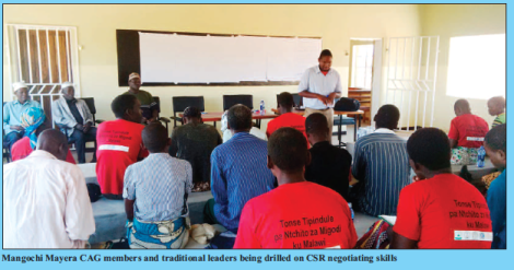 2017-04 Malawi Mining & Trade Review Mangochi Mayera Mining Community CSR