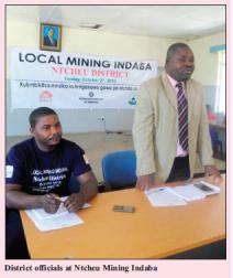 2017-04 Malawi Mining & Trade Review Ntcheu Alternative Mining Indaba