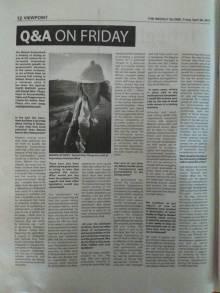 20170428 Rachel Etter-Phoya Interview Weekly Globe