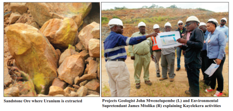 201705 Malawi Mining Trade Review Chamber of Mines visit Kayelekera Uranium Paladin