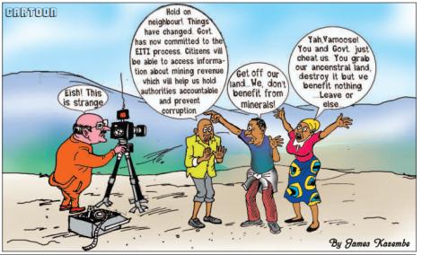 201706 Malawi Mining & Trade Review Cartoon EITI James Kazembe