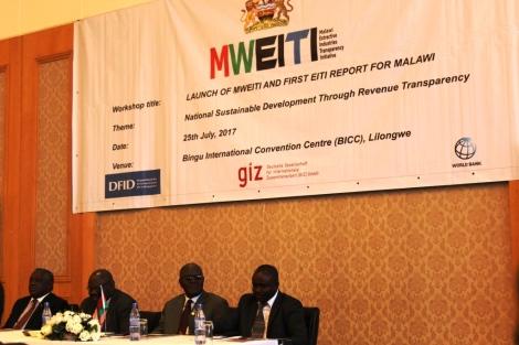 MWEITI Launch, Dean Lungu, Ben Botolo, Aggrey Masi, Kossam Munthali