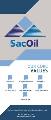 SacOil values