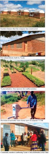 201711 Malawi Mining & Trade Review Nyala Mine Ruby CSR, Education, Water, Health, Environment
