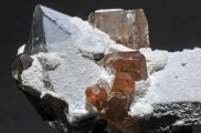 crystilized topaz and quartz