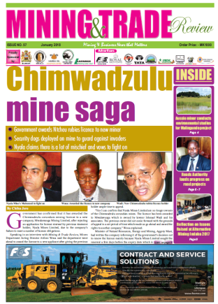 201801 Malawi Mining & Trade Review Cover