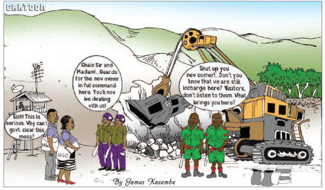 201803 Malawi Mining & Trade Review Cartoon Ruby Mine