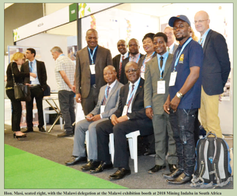 201803 Malawi Mining & Trade Review Mining Indaba Malawi Delegation