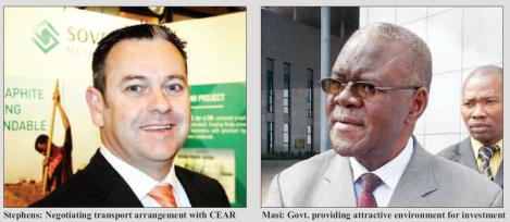 201803 Malawi Mining & Trade Review Mining Indaba Sovereign Metals Julian Stephens Aggrey Masi