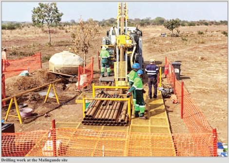 201803 Malawi Mining & Trade Review Mining Indaba Sovereign Metals Malingunde Drilling