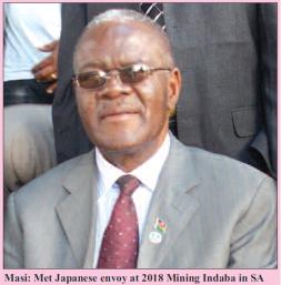 201804 Malawi Mining & Trade Review Minister Hon Aggrey Masi