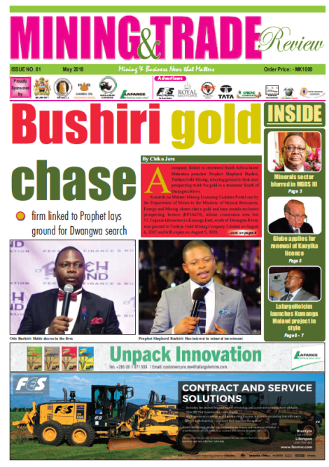 201805 Malawi Mining & Trade Review Cover
