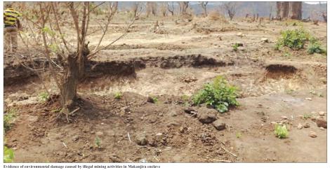 201810 Mining & Trade Review Malawi Illegal Mining Makanjira