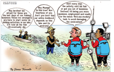 201901 Malawi Mining & Trade Review Oil cartoon