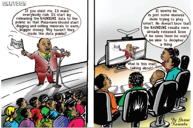 Mining & Trade Review Cartoon April 2019 elections politics