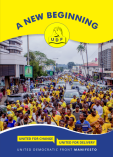 UDF Manifesto 2019 Front Page