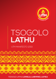 UTM Manifesto 2019 Front Page